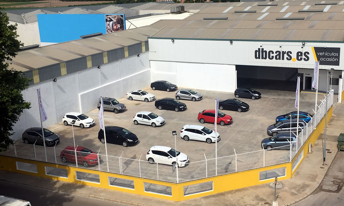 dbcars vehiculos ocasion exposición